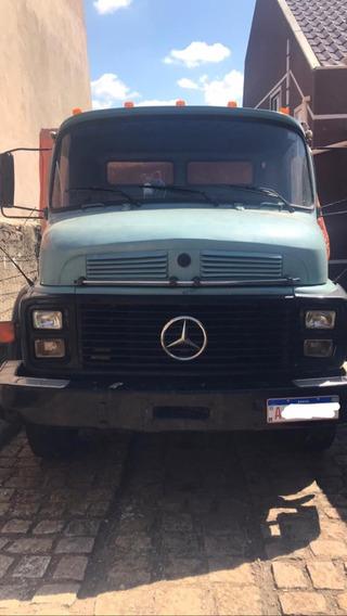 Caminhão Mercedes Benz Ano 1978, Modelo 1113 Turbo.