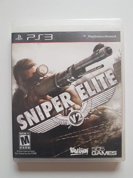 Sniper Elite V2 Mídia Física Original Para Playstation 3
