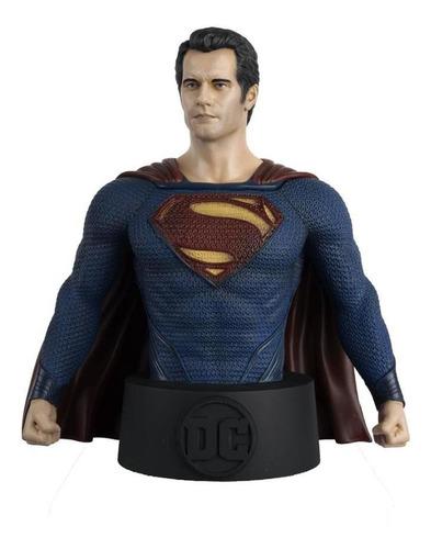 Imagem 1 de 10 de Dc Bustos - Superman - Universo Batman - Resina Metálica