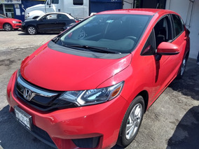 Honda Fit 1.5 Fun Mt 2015 Rojo