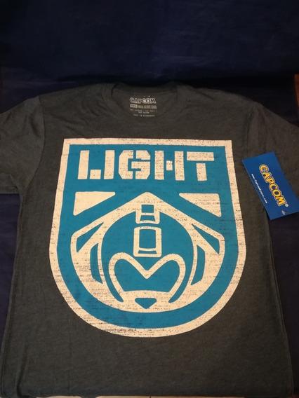 Playera Team Light Capcom Megaman Mega Man Oficial