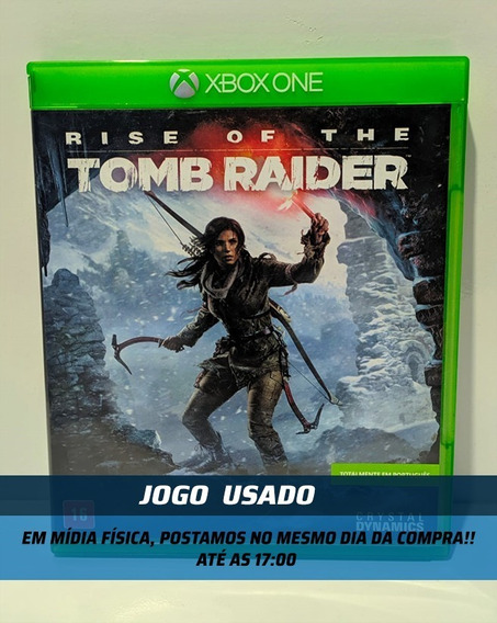 Jogo Rise Of The Tomb Raider Xbox One Dublado Usado
