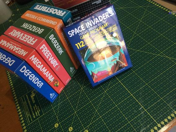 Caixas De Atari, Atari 2600 Caixa De Reposição