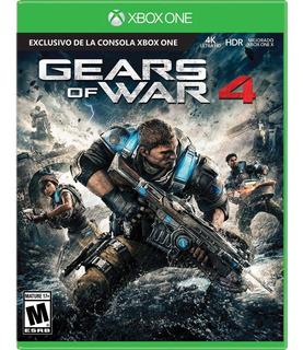 Sellado Gears Of War 4 Juego Fisico Xbox One