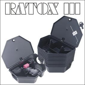 Kit 10 Porta Iscas Com Chave Para Ratos - Ratox 3