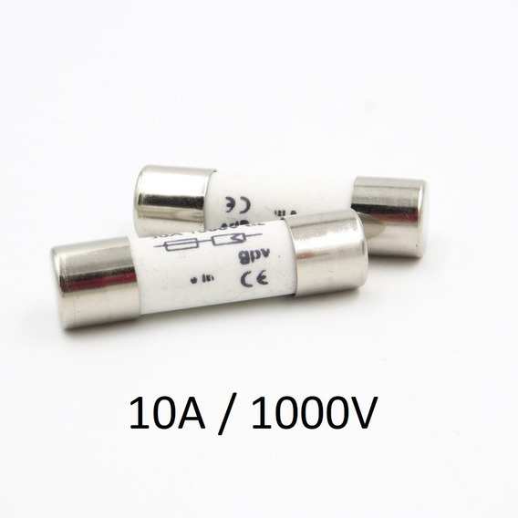 Fusível P/ Seccionadora Dc 1000v / 10a 10x38 Gpv