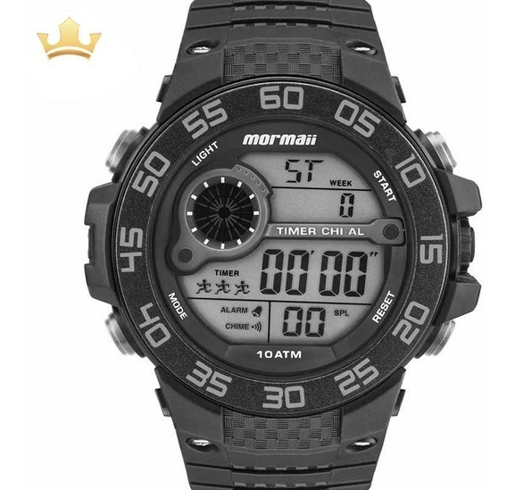 Relógio Mormaii Masculino Mo9451/8c Com Nf