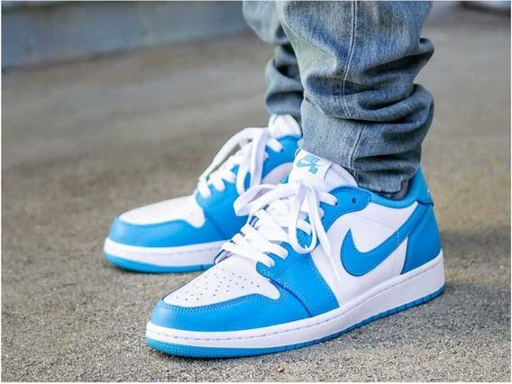 Tenis Nike Jordan 1 Low Sb Unc Originales Nuevo Hombre