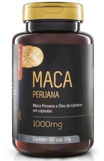Maca Peruana Libido 1000mg 60 Cápsulas - Upnutri