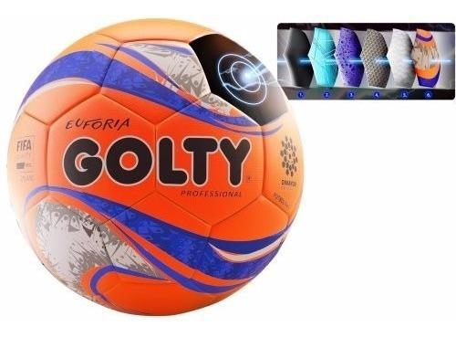 Balon Futbol Golty Euforia Profesional Fpc Original #5