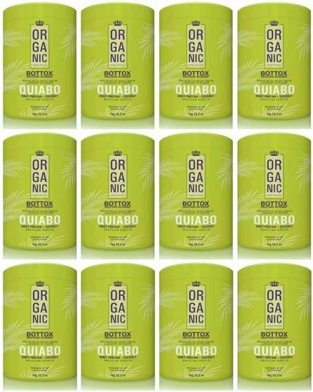 12 Btxx Quiabo Organic Fioperfeito Pote Kilo + Brinde