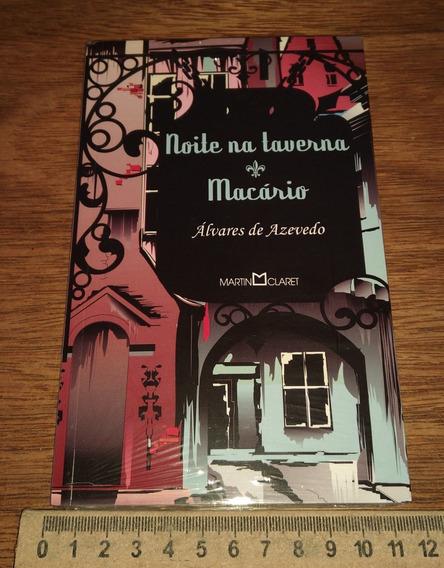 Noite Na Taverna + Macário - Alvares De Azevedo Livro Novo