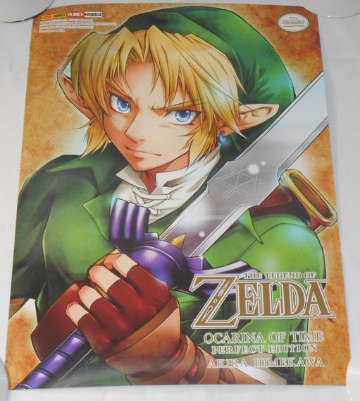 Zelda Poster 50x36 Oficial Link Ccxp17 Ccxp2017 Ccxp 2017