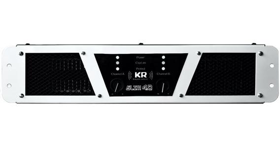 Amplificador Kr 4.0 2000 Wrms 2 Ohms