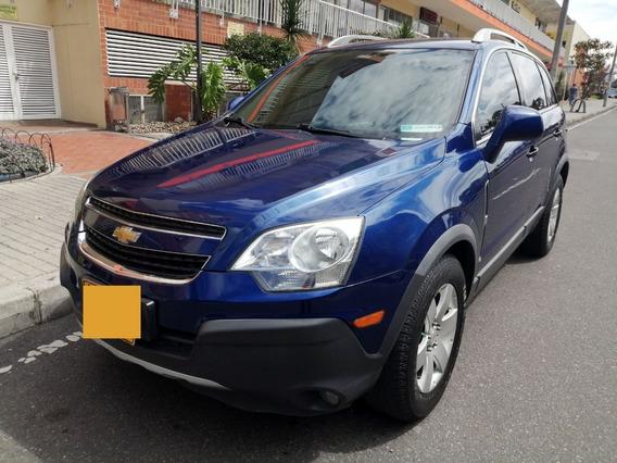 Chevrolet Captiva Sport 2.364 Azul Luxo Automática 2012