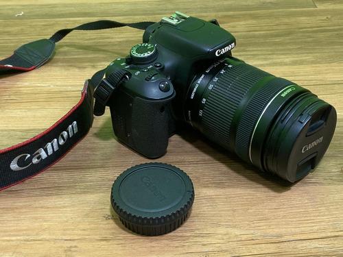 Canon Eos Rebel T3i + Lente Ef-s 18-135mm Is Stm