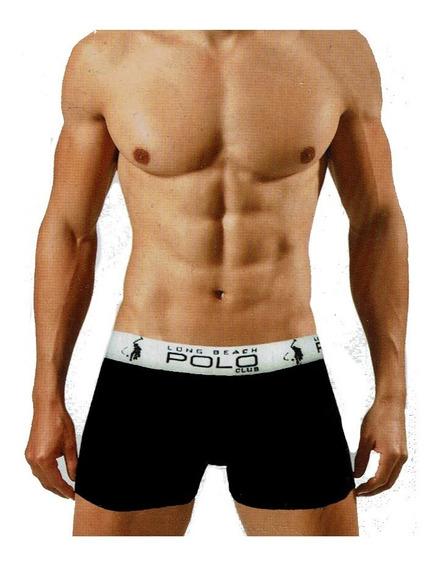 Paquete Con 3 Boxers Cortos Polo Club Underwear Lb7001