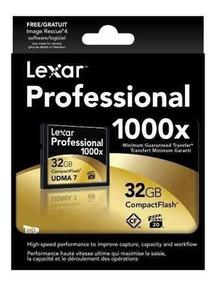 Lexar Profissional Compact Flash Cf 32gb 160mb/s 1066x Udma7