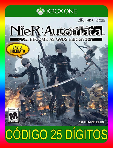 Nier Automata Become Gods Xbox One - 25 Dígitos (envio Já)
