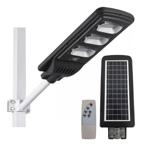 Luminaria Solar Refletor Poste 90w Sensor De Presença