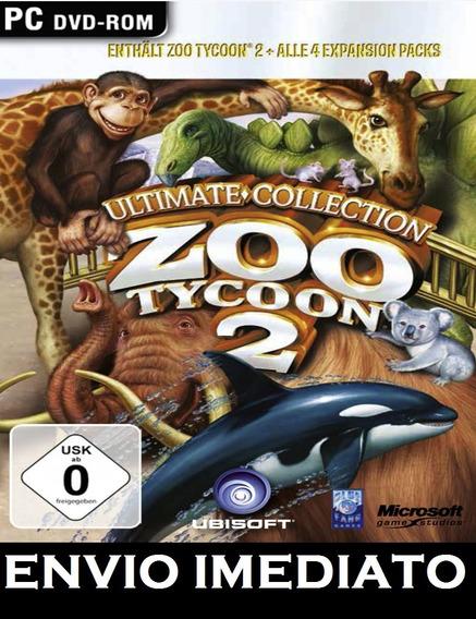 Zoo Tycoon 2 Coleção Completa Pc - Mídia Digital + Brinde