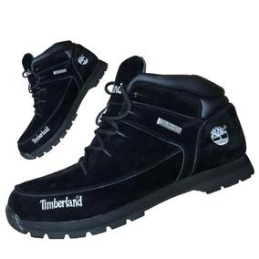 Botas Timberland Negra Gamuza Sprint Hiker - Hombre