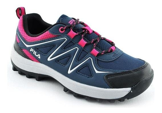 Zapatillas Fila Trekking Trail Running Correr Montaña Mujer