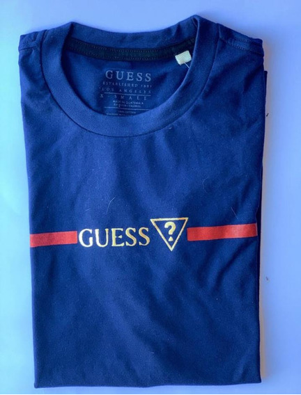 Lote De 2 Camisetas Hombre Guess Originales Talla Xs