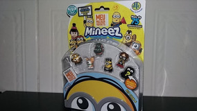 Kit Com 6 Miniatura Colecionável Meu Malvado Favorito