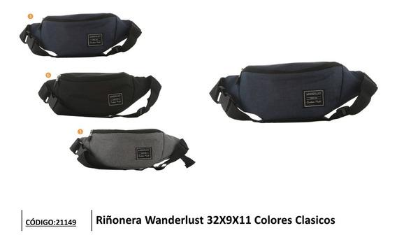Riñonera Wanderlust Colores Clásicos