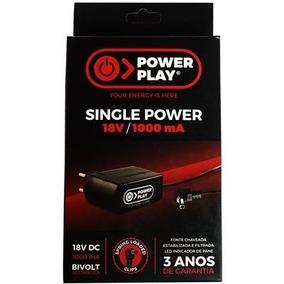 Fonte Power Play Single Power Para Pedais- 18v Dc 1000ma