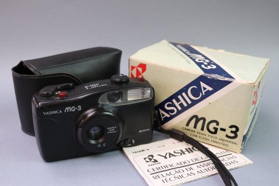 Câmera Yashica Mg-3 Na Caixa