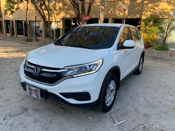 Honda Crv City Plus 2015 Blanco Con Garantia