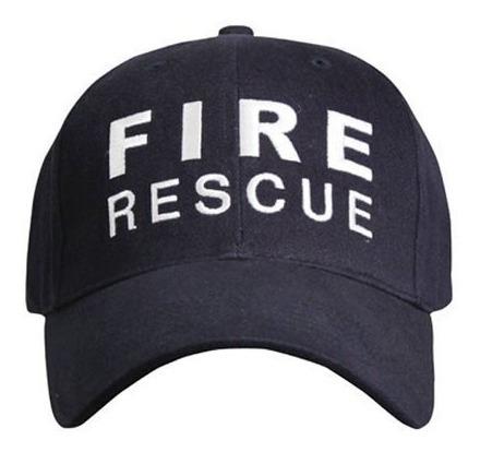 Gorra Gorro Bordado Visera Bomberos Fire Rescue