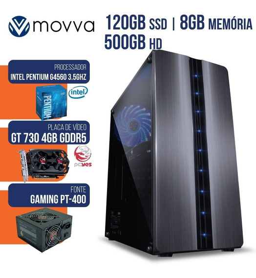 Computador Intel Pentium Dual Core G4560 3.5ghz 8gb Hd 500gb
