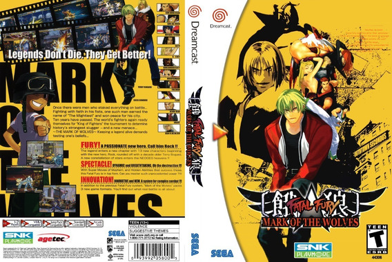Fatal Fury Mark Of The Wolves - Dreamcast - Patch - Selfboot