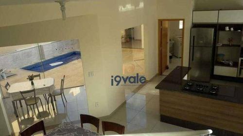 Casa Com 3 Dormitórios À Venda, 220 M² Por R$ 700.000 - Condomínio Terras Do Vale - Caçapava/sp - Ca1554