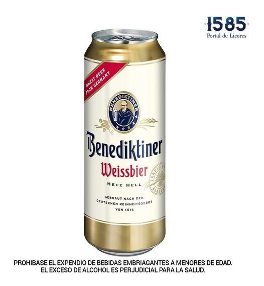 Cerveza Benediktiner Weissbier 500ml Lat - mL a $12
