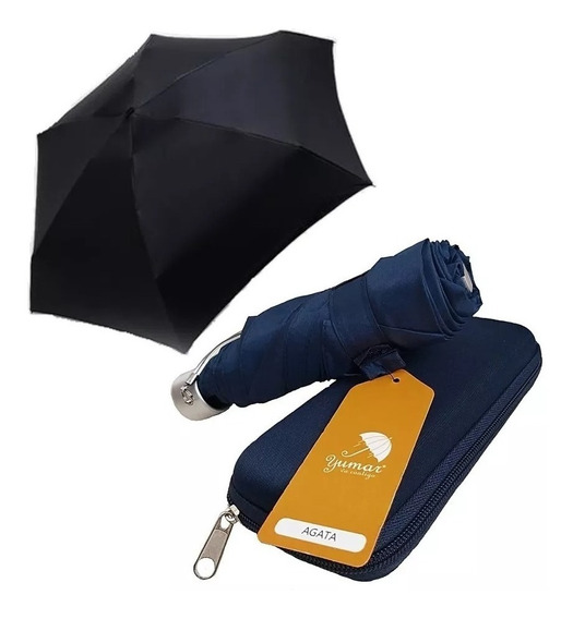 Sombrilla Mini Paraguas Estuche Marca Yumar