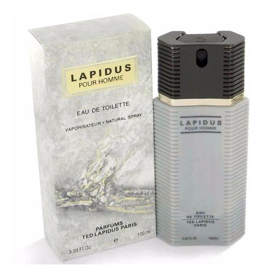 Perfume Lapidus Pour Homme Edt 100ml Masculino Original.