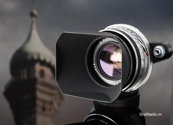 Lente Zeiss Pancolar White Rara 50mm F2 + Adapt Sony E-mount