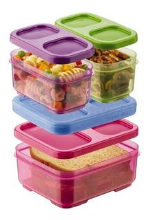 Lunchbox Rubbermaid 1866738 Juego De 4 Piezas