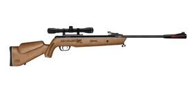 Rifle Quetzalcoatl Np Barniz Cal. 5.5 + Mira 4x32 Mendoza