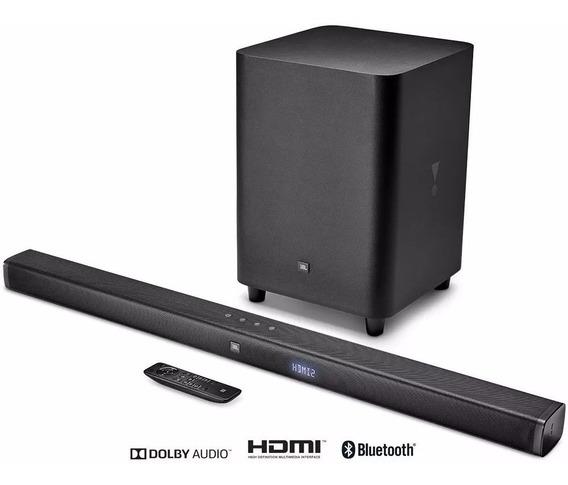 Soundbar Jbl Bar 3.1 Bluetooth 178w Rms Hdmi Usb Subwoofer