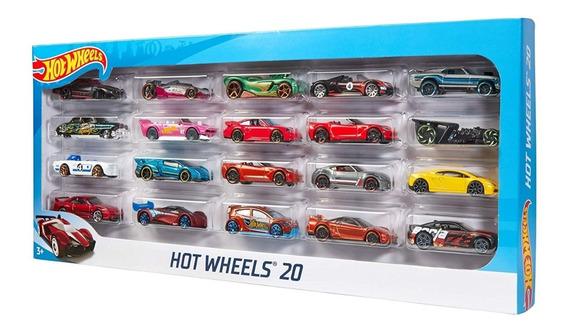 Carritos Hot Wheels Pack 20 Vehiculos Original 100% (40v)