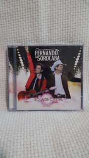 Cd Sertanejo Fernando & Sorocaba Bola De Cristal Ao Vivo