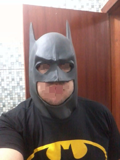 Máscara - Batman - Cosplay