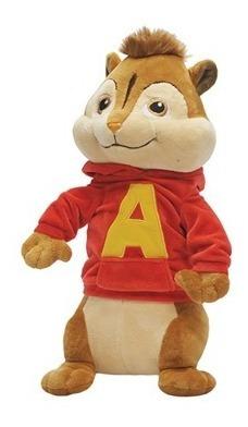 Alvin Pelucia Alvin E Os Esquilos Bbr Toys 25 Cm Bonellihq