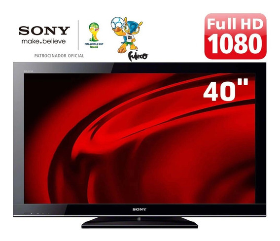 Tv Sony Bravia Lcd Full Hd Kdl-40bx455