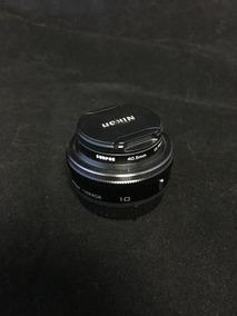 Lente 10 Nikon Para Cameras J1 - Preta
